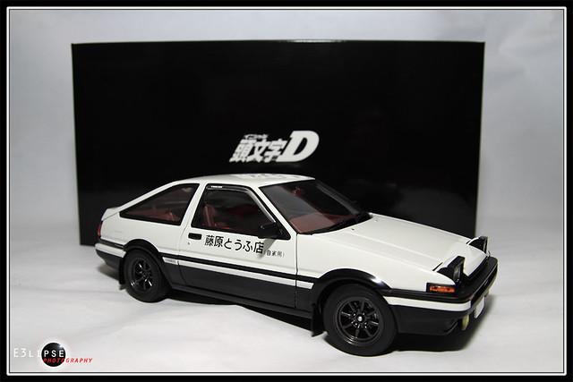 1 18 Initial D Toyota Sprinter Trueno Comic Edition Flickr