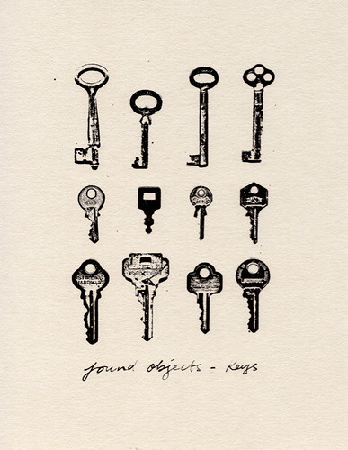 found objects - keys | by The Wallpaper Files