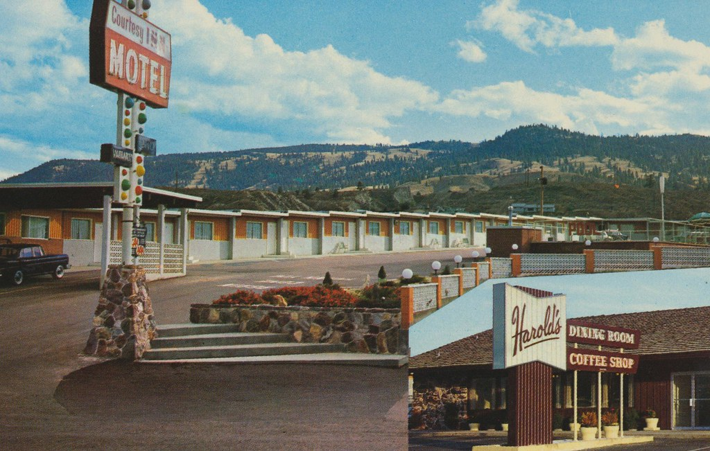 Courtesy Inn Motel - Kamloops, British Columbia
