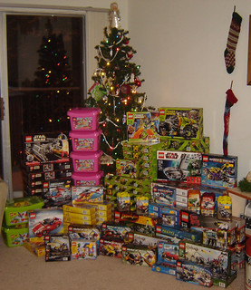 Toys For Tots donations 2009 from Builders Lounge | by DW Studios - MI