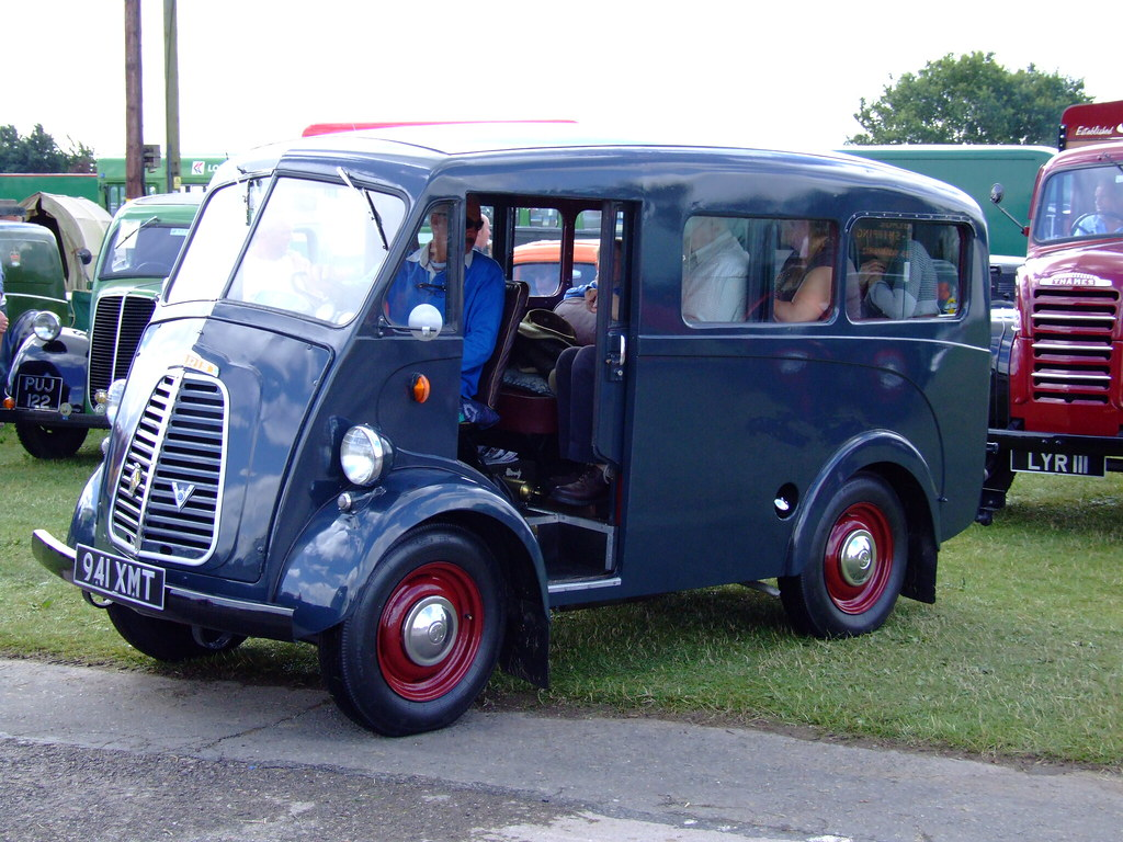 Morris Ji Mini Bus Morris J1 Minni Bus Haywards Heath
