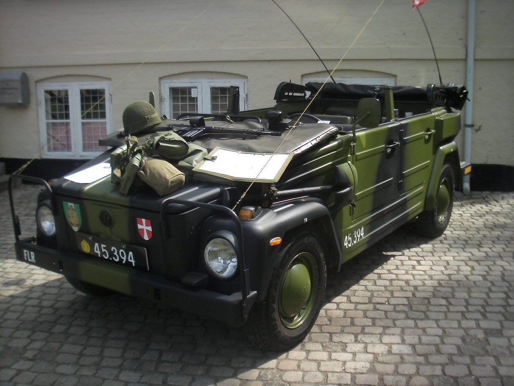 danish military vw 181 taken at a military historic muse flickr. Black Bedroom Furniture Sets. Home Design Ideas