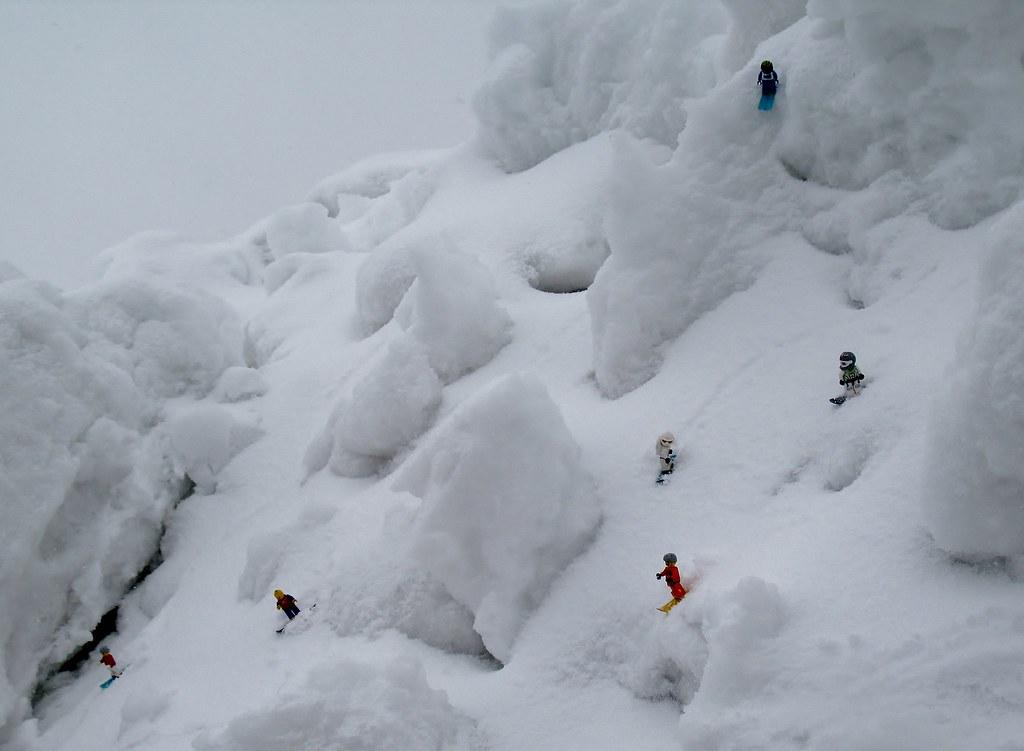 2011 04 28 poudre au Glacier 3000