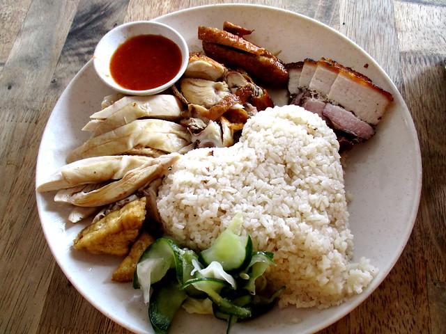 Mitsu Shabu Shabu Cafe mixed meat platter