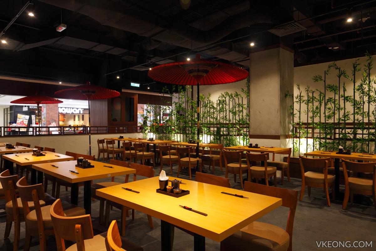 Aragan Yokocho Spring Seating Area