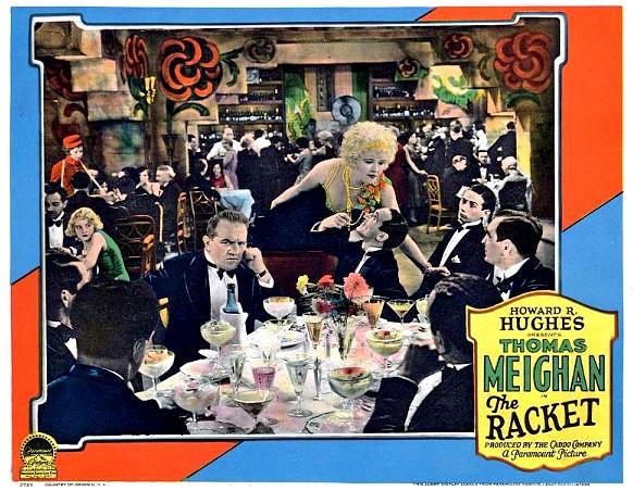 The Racket - 1928 - lobbycard 1