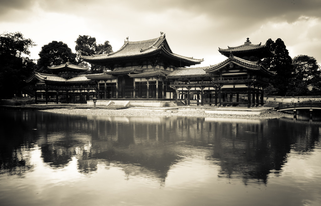 Byodo-in  Byōdō-in (平等院?) is a Buddhist temple in the ...
