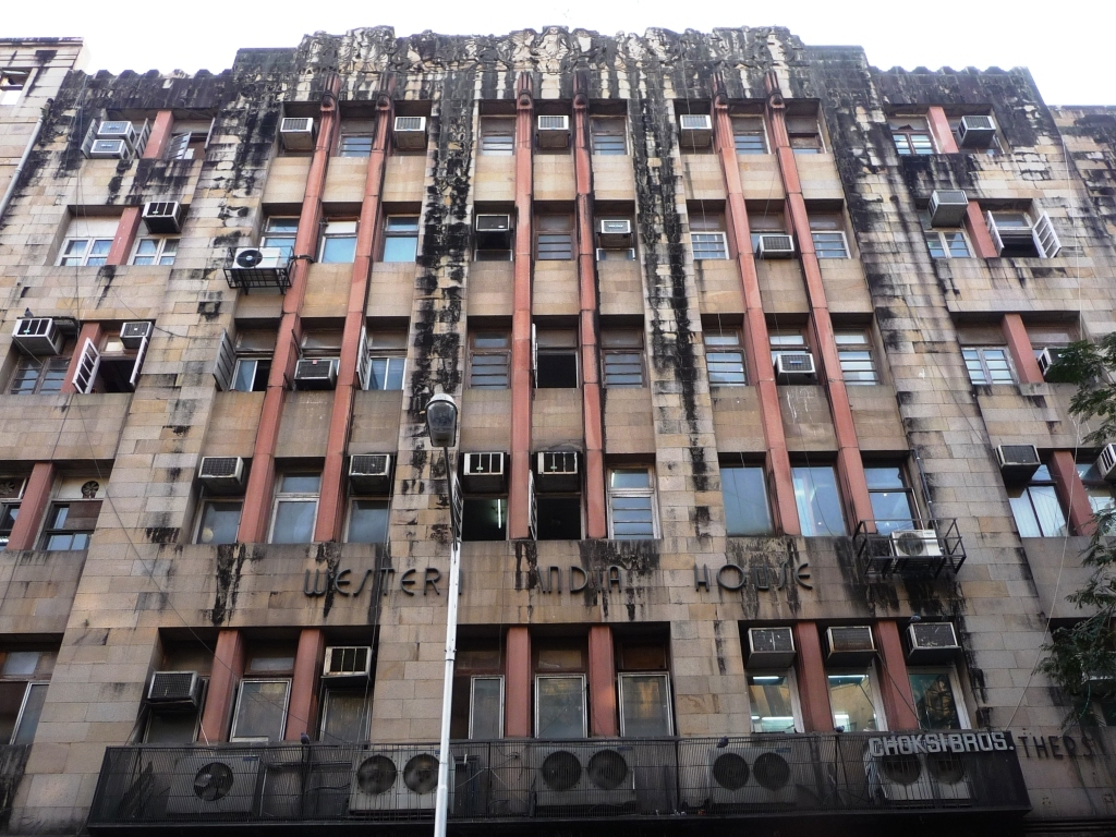 ... Western India House   Bombay Art Deco | By John Meckley