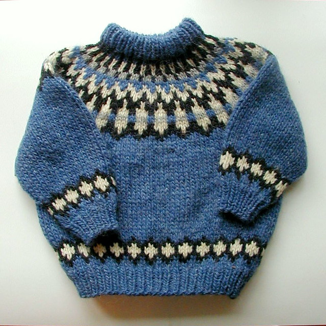 Icelandic Handknit Childs Sweater Traditional Icelandic d? Flickr