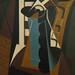Juan Gris, Nature morte sur une chaise, 1917