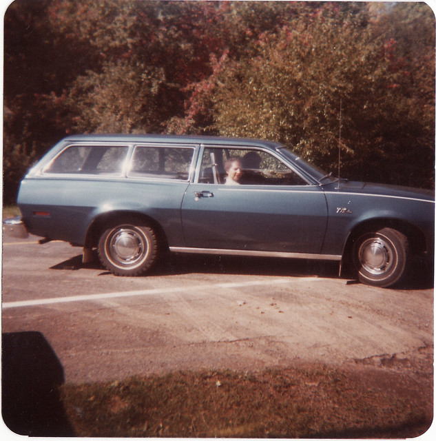 1974 Ford Pinto Lineup: MY PARENTS 1974 FORD PINTO WAGON GONG ON A RIDE IN OCT 198
