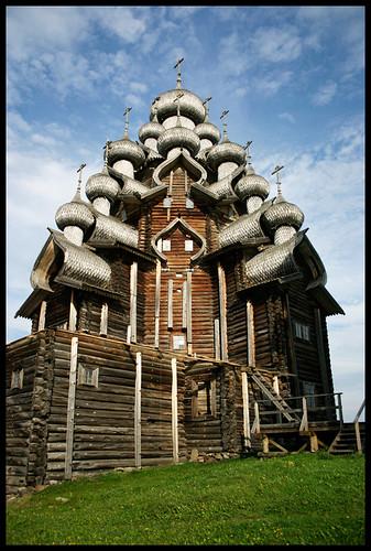 Kizhi Russia 2009 Transfiguration Church Kizhi Is An
