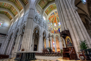 Catedral de La Almudena, Madrid HDR | by marcp_dmoz
