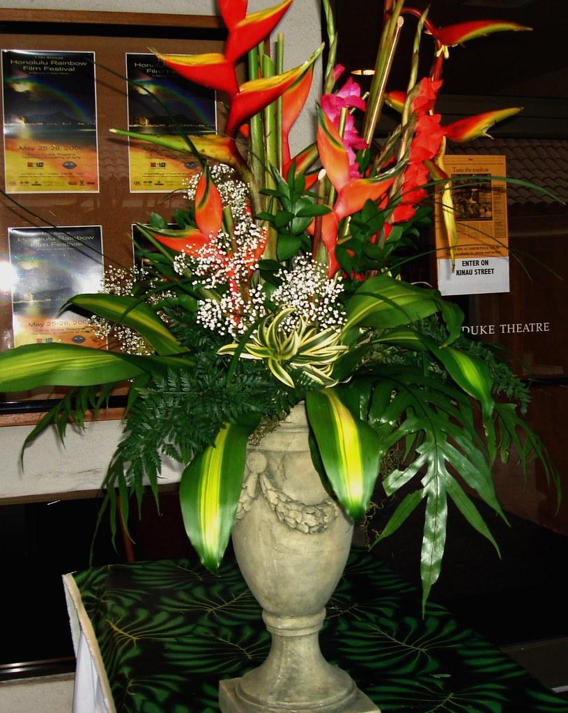 Flower Arrangement Floral Tropical Hawaii Film Fesitval Ri Flickr