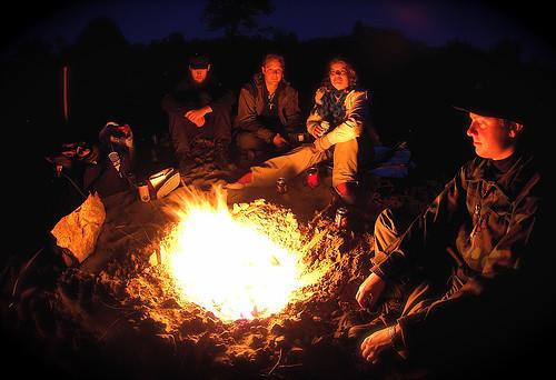 Traditional Campfire A Traditional Campfire Scene