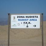 Spain-Gran Canaria-Maspalomas-Playa de Maspalomas-Zona Nudista