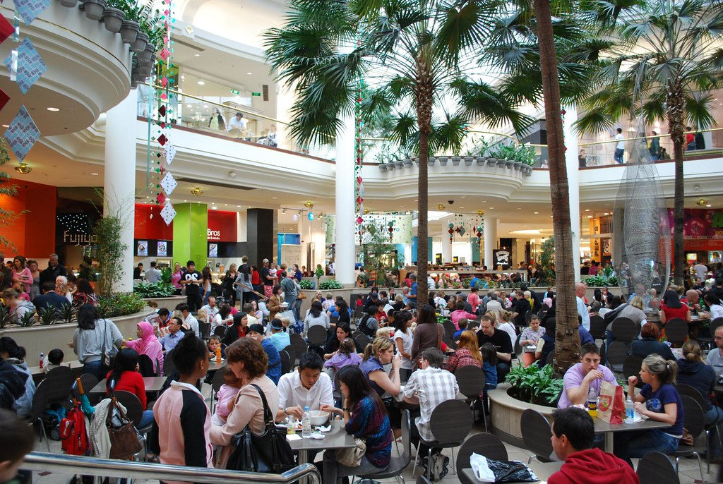 Busy Food Court Australia
