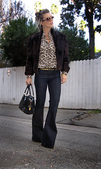 leopard-print-fur-coat-lovestory-jeans | by ...love Maegan