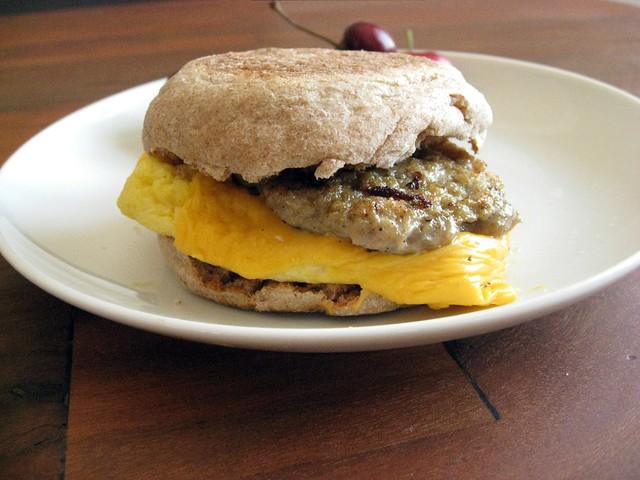 Breakfast Chicken Sausage Patties – Elly Says Opa!