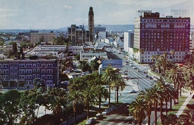 Wilshire Blvd  Los Angeles Ca