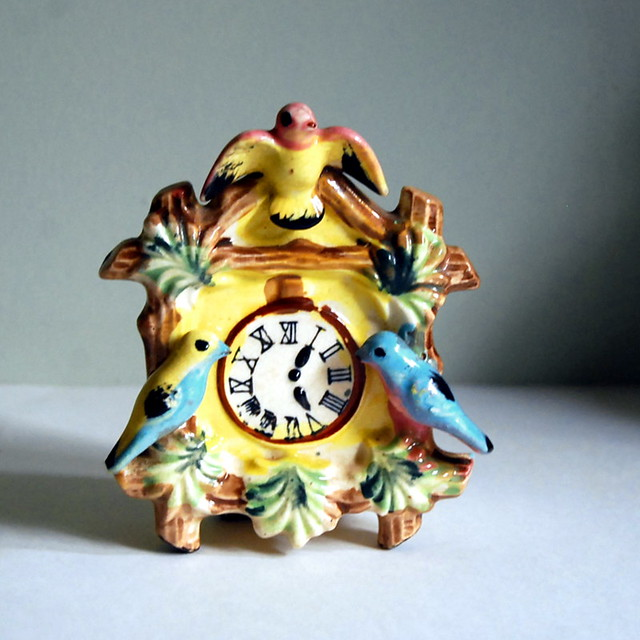 Vintage Cuckoo Clock Wall Pocket The Epitome Of Kitschy