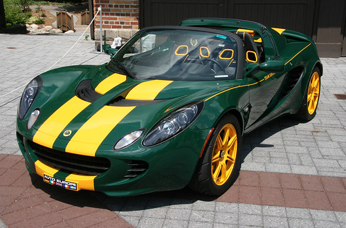 Green Lotus Elise Lotus Elise In Traditional Lotus