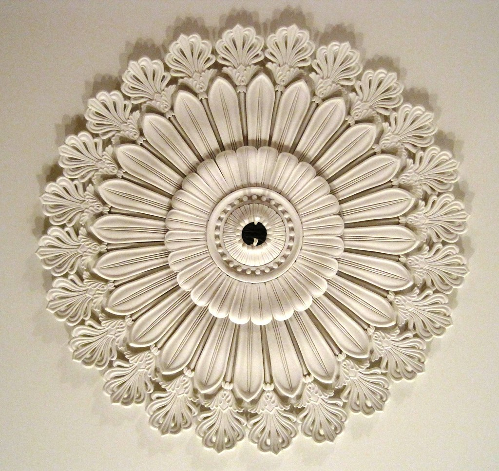 Minard Lafever Inspired Ceiling Medallion In 1838 Jay Draw