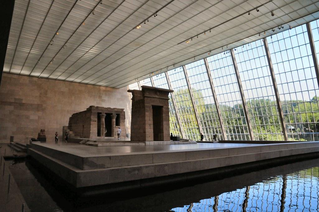 Temple of dendur at new york metropolitan museum of art for Muralisme mexicain