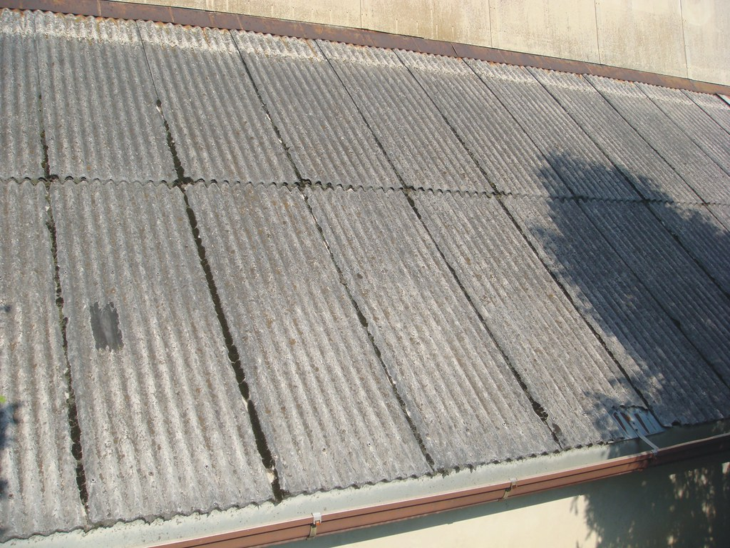 Corrugated Asbestos-Cement Roof Panels | These asbestos ...