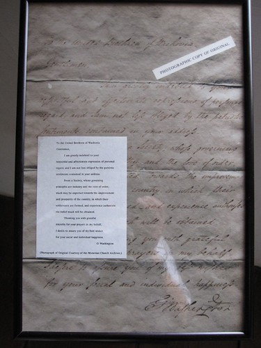 G Washington Letter Salem 39 S Most Famous Visitor President Flickr