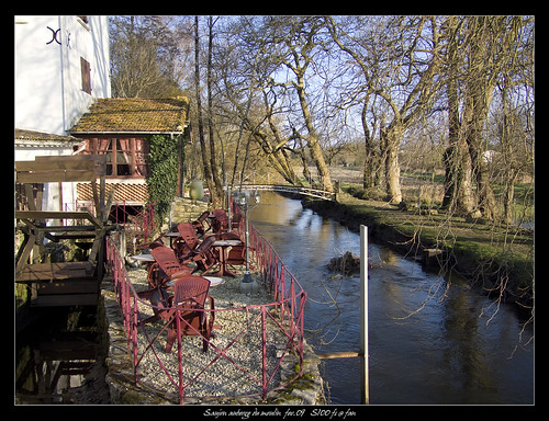 saujon auberge du moulin 3 l 39 auberge du moulin tr s bon flickr. Black Bedroom Furniture Sets. Home Design Ideas
