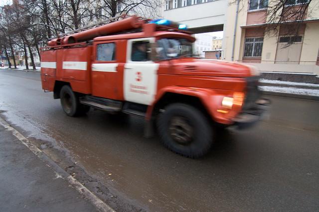 ЧП пожар МЧС курьерская служба экспресс-доставка QDel