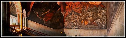 Mural jose clemente orozco palacion de gobierno guadalaja for El mural guadalajara jalisco