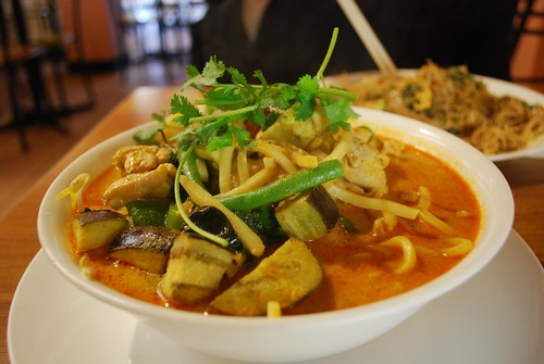 Thai Chicken Curry Laksa - Chilli Cafe AUD10.90 | by avlxyz