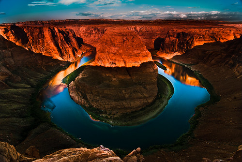 Horseshoe bend - Sunrise | by wildshutterbug