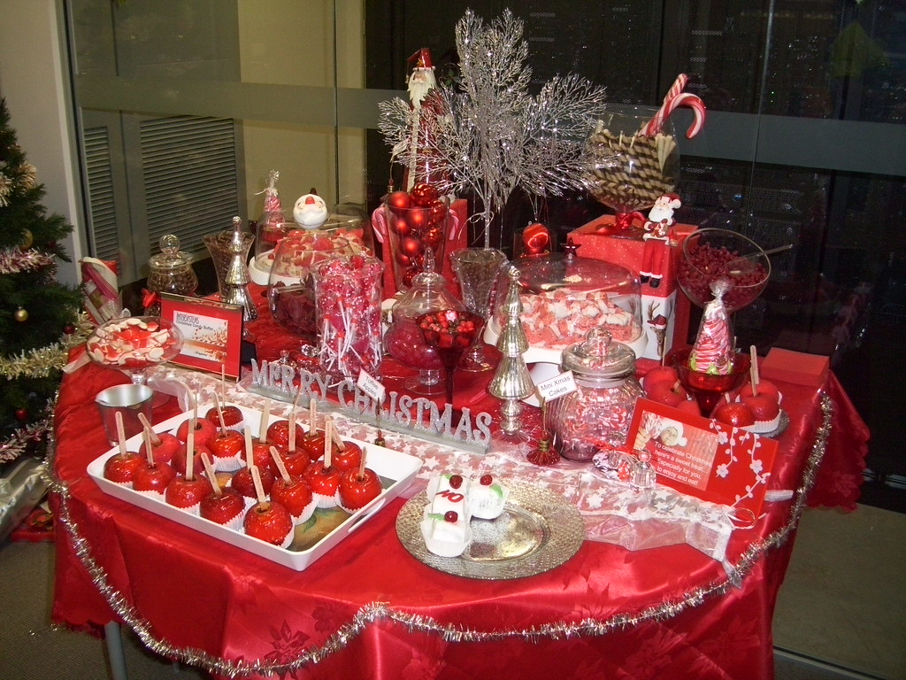 Christmas Candy buffet bar | From all the inspiration gather… | Flickr