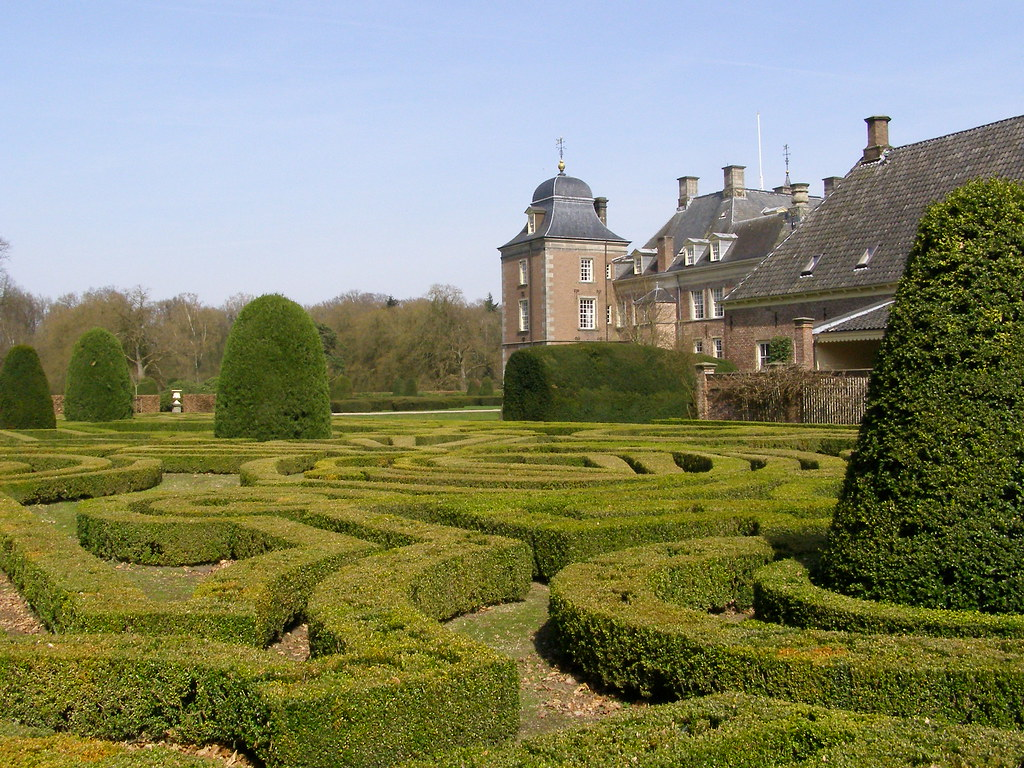 Weldam parterre and castle henk van der eijk flickr for Parterre 3d