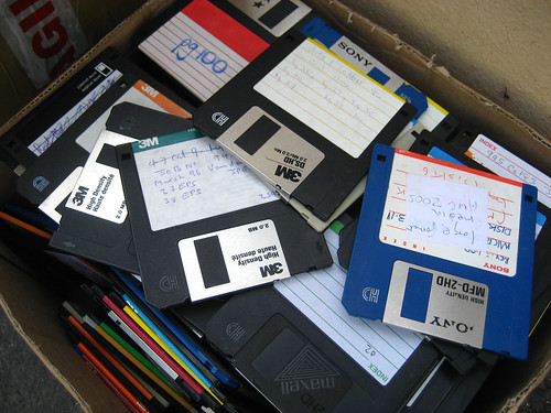 Box o'floppies
