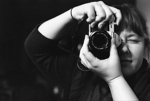 ash and her pentax | by Leah Reich