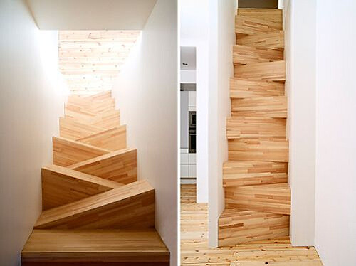 Bon ... Alternating Tread Staircase By Arkitectkontor | By Ouno Design