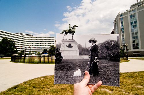 Looking Into the Past: Thomas Circle, Washington, DC | by jasonepowell