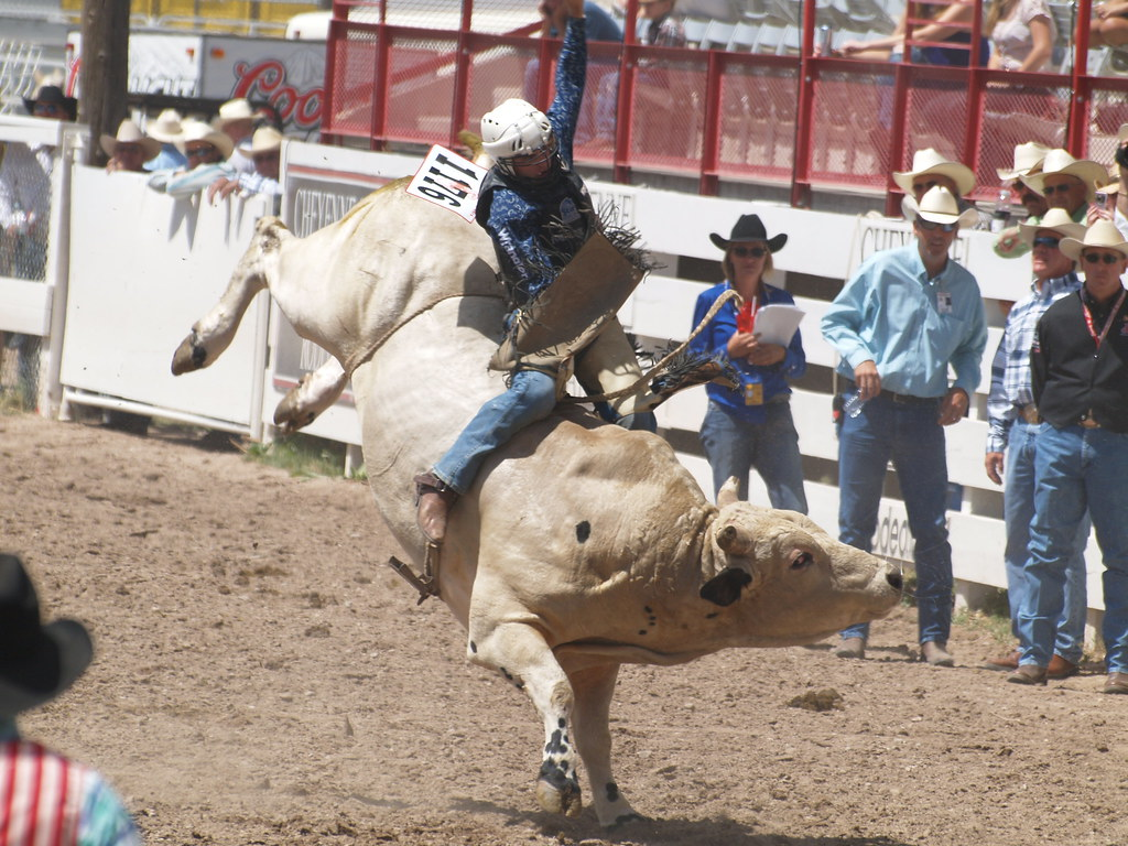 Cheyenne Wyoming Frontier Days Daddy Of Em All Rodeo July