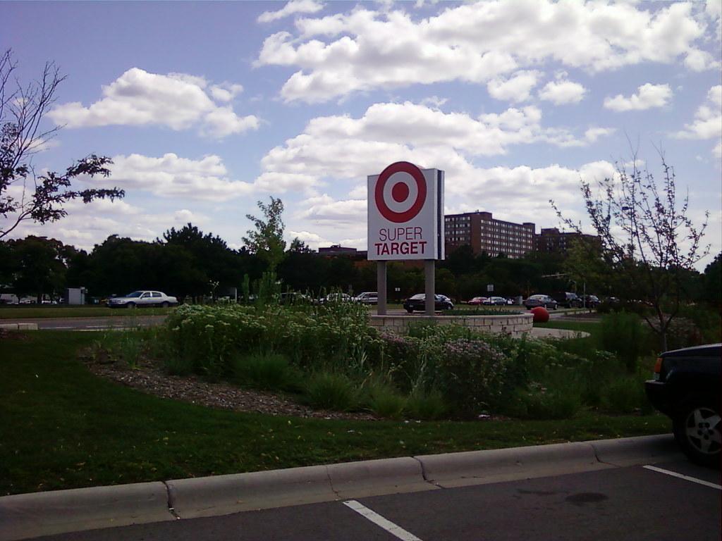 Super Target Edina Minneapolis Minnesota Sign By Xe
