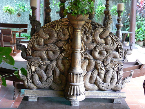 Entwined Serpents .  Altar screen . M.R.Kukrit Pramoj House…  sccart  Flickr