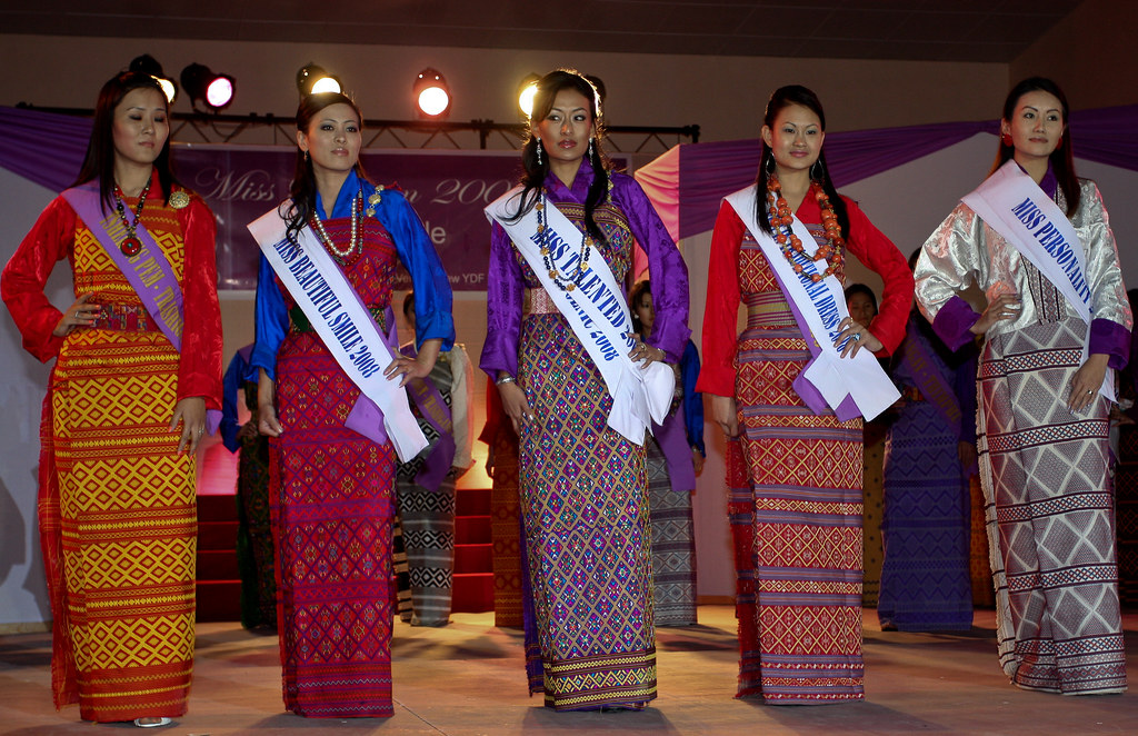 The Miss Bhutan 2008 Goes To Anan Loza Flickr