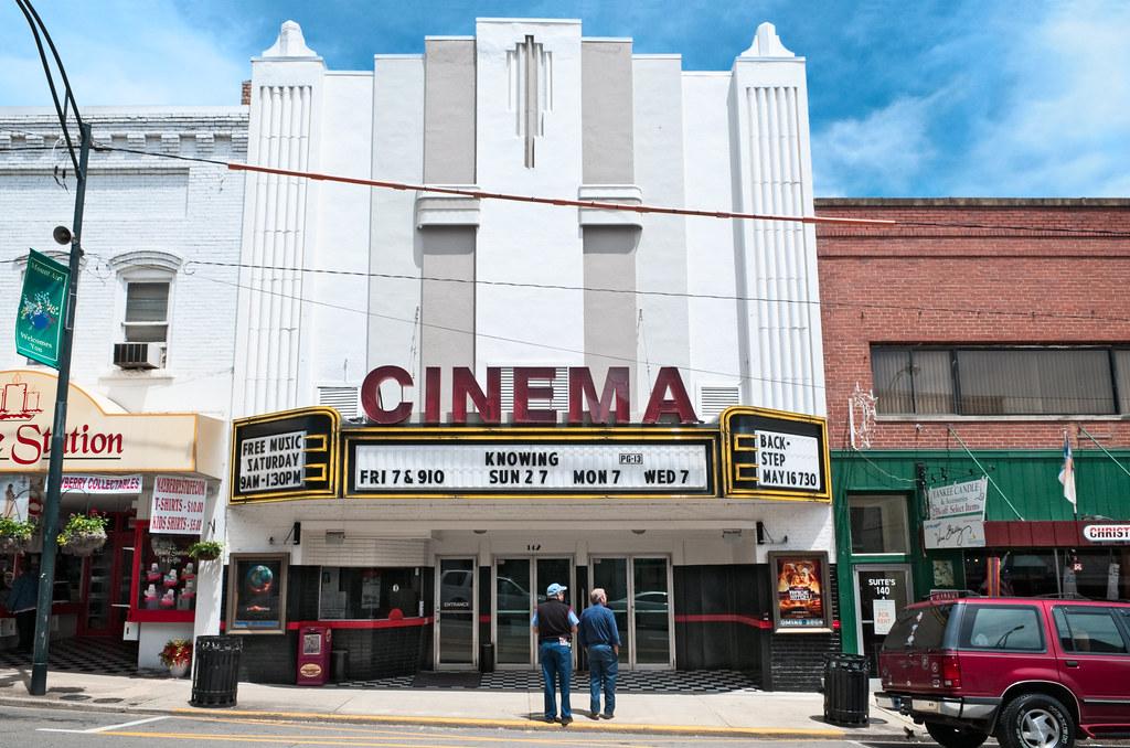 Downtown Cinema Theatre 1937 142 North Main Street Mou
