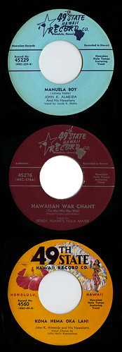 49th State Hawaii Record Co. labels_tatteredandlost | by tattered and lost attic