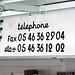 telephone #'s