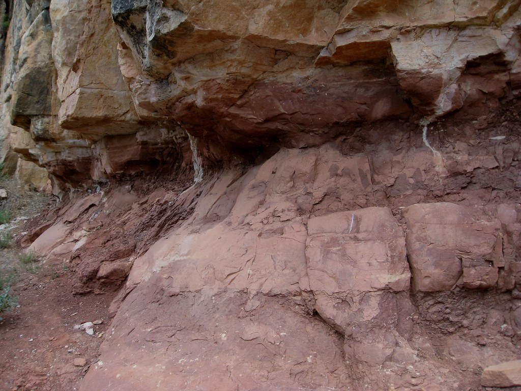 Hermit Shale and the Coconino Sandstone | Bruce was ...