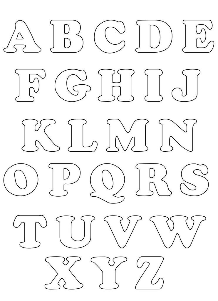 alfabeto para feltro